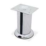 Опора для мебели 140 Н100мм сталь хром