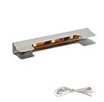 Светильник-клипса 215 светодиодный  L66мм нерж. сталь