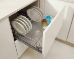 корзина выдвижная для посуды