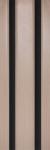 Богема черное стекло, беленый дуб